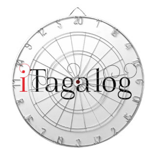 ITAGALOG DARTBOARD WITH DARTS