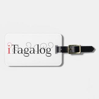 ITAGALOG LUGGAGE TAGS