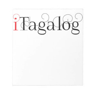 ITAGALOG NOTEPADS