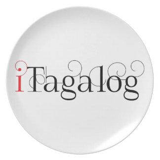 ITAGALOG DINNER PLATES