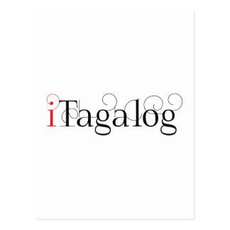 ITAGALOG POST CARD