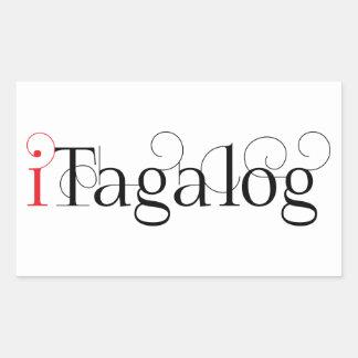 ITAGALOG RECTANGULAR STICKER