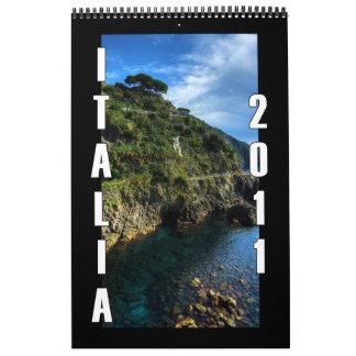 Italia 2011 calendars
