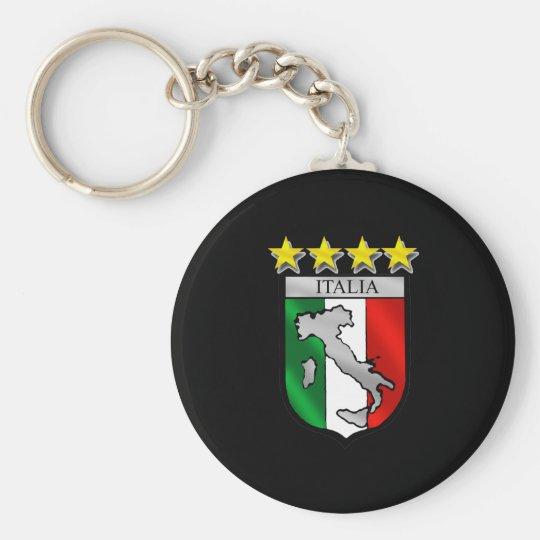 italia 4 stars world champions soccer gifts key