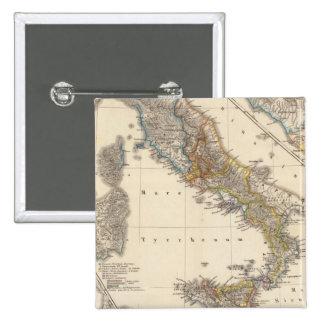 Italia adiectis iis 15 cm square badge