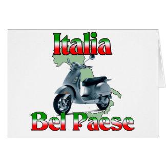 Italia Bel Paese. Card