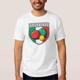 Italia Bocce Shield Men's T-Shirt