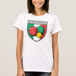 Italia Bocce Shield Women's T-Shirt