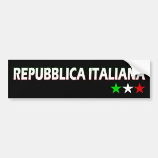 Italia Bumper Stickers