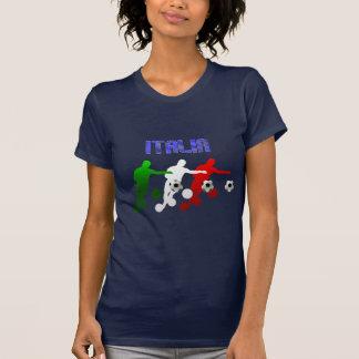 Italia Calcio Bend It Soccer Player Italy flag Tshirt