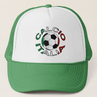 Italia Calcio Italy Football Trucker Hat