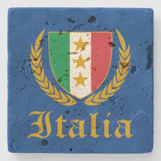 Italia Crest Stone Coaster