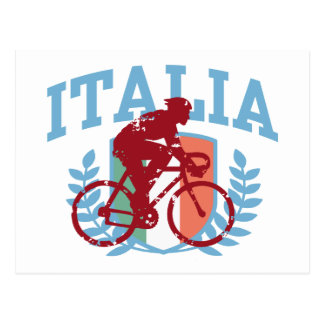Italia Cycling male Postcards