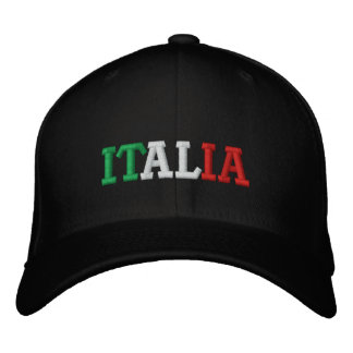 Italia Embroidered Hat