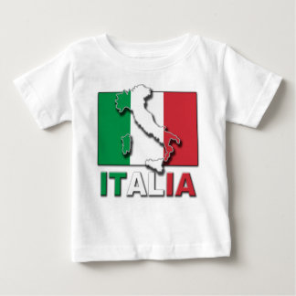 Italia Flag Land Baby T-Shirt