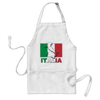 Italia Flag Land Standard Apron