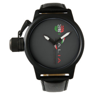 Italia Flag Rose Watch