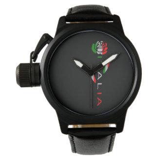 Italia Flag Rose Wristwatches