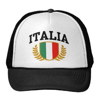 Italia Hat Mesh Hats