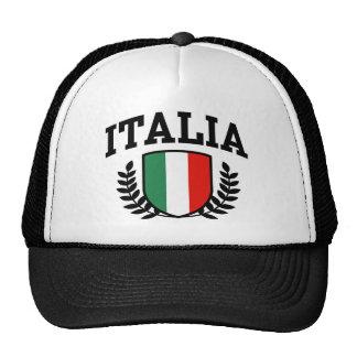 Italia Hat Mesh Hat
