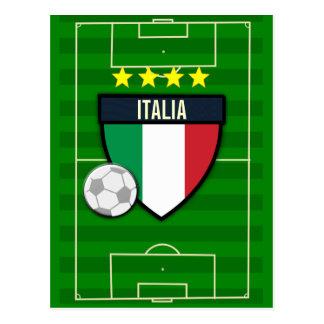 Italia Italy Soccer Postcard