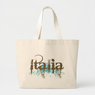 Italia Italy T-shirt Large Tote Bag