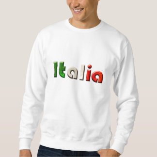 Italia logo gifts for Italians and Italy lovers Sweatshirt
