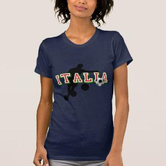 Italia Logo soccer players Bend it Shirt