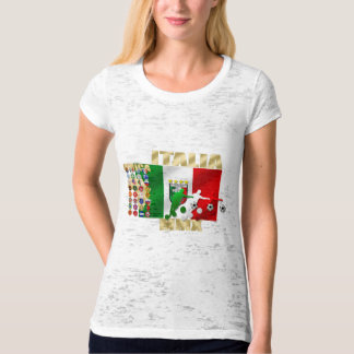 Italia MMX Italy flag soccer players artwork gifts T-Shirt