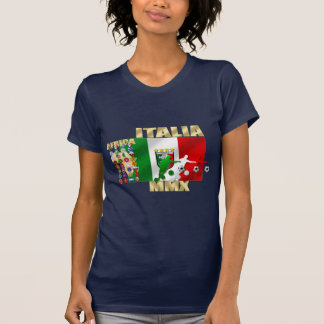 Italia MMX Italy flag soccer players artwork gifts Shirt