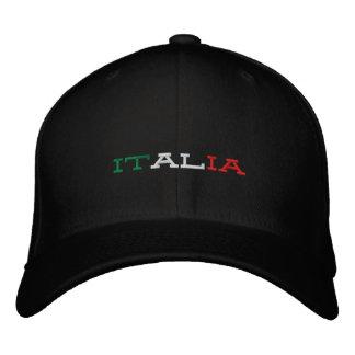 Italia Moto Embroidered Baseball Cap