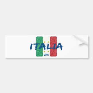 Italia soccer 2010 bumper stickers