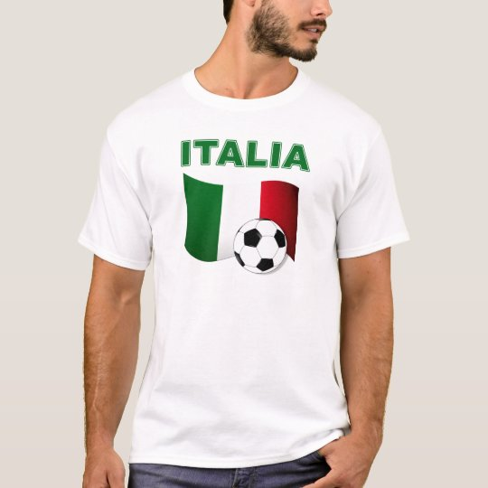 italia soccer football world cup 2010 T-Shirt