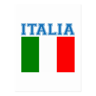 Italia Soccer Postcard