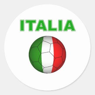 Italia World Cup T-Shirt Round Sticker