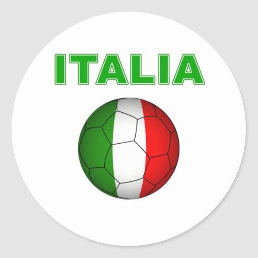 Italia World Cup T-Shirt Stickers