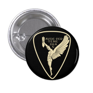 Italian Air Force ww2 bomber squadron 3 Cm Round Badge