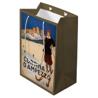 Italian Alps Italy Vintage Travel gift bags