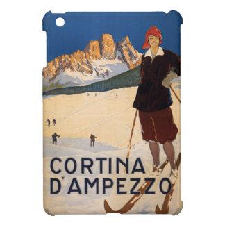 Italian Alps vintage travel cases Cover For The iPad Mini