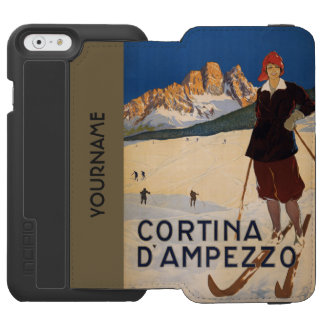 Italian Alps vintage travel cases Incipio Watson™ iPhone 6 Wallet Case
