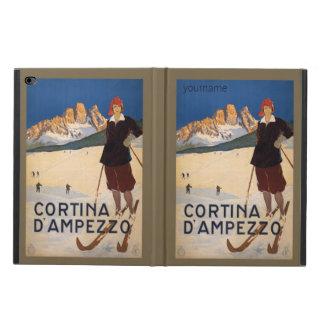 Italian Alps vintage travel device cases