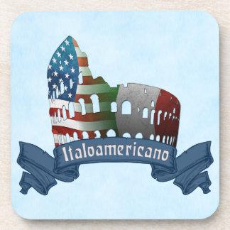 Italian American Rome Coliseum Coaster Set