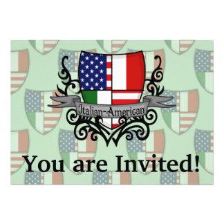 Italian-American Shield Flag Announcements