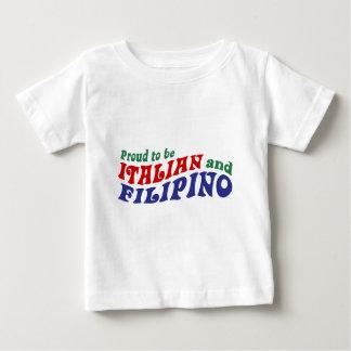 Italian and Filipino Baby T-Shirt