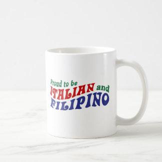 Italian and Filipino Coffee Mug