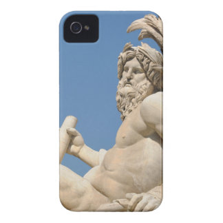Italian architecture in Piazza Navona,Rome, Italy iPhone 4 Cover