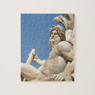 Italian architecture in Piazza Navona,Rome, Italy Jigsaw Puzzle