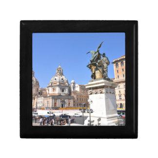 Italian architecture in Rome, Italy Gift Box