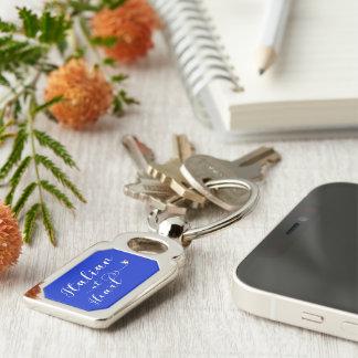 Italian At Heart Keyring, Italy Key Ring
