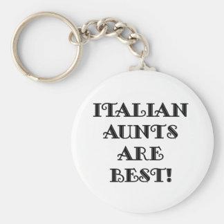 Italian Aunts Are Best Key Ring